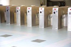 bilety maszynowa pociągu weryfikacji obrazy stock