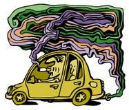 bilförorening stock illustrationer