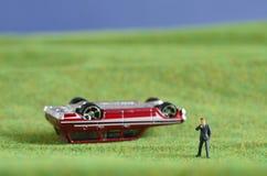 Bilförsäkring Arkivbild