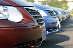 bilförsäljning Fotografering för Bildbyråer