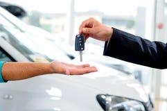 Bilförsäljningar Royaltyfri Foto