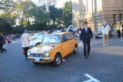 Bilfestival för 2015 klassiker i Tokyo Royaltyfri Foto
