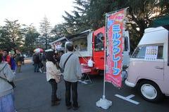 Bilfestival för 2015 klassiker i Tokyo Fotografering för Bildbyråer