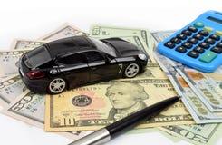 Bilfinans USA Arkivfoton