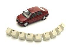 bilförsäkring Arkivfoto