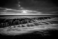 Bilgola Rockshelf tidal flows Royalty Free Stock Photos