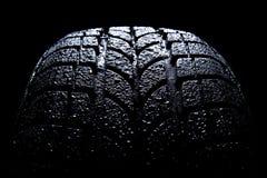 bilgummihjul Royaltyfri Fotografi