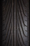 bilgummihjul Arkivbild