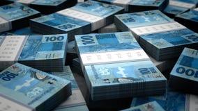 Bilhão fundos reais Fotografia de Stock Royalty Free