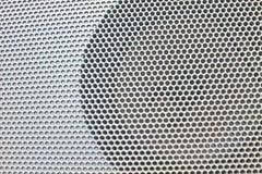 Bilhögtalare på dörrpanel Arkivfoton
