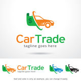 Bilhandel Logo Template Design Vector Arkivbilder