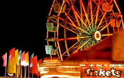 Bilhete do carnaval Fotografia de Stock