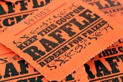 Bilhetes do Raffle Imagens de Stock