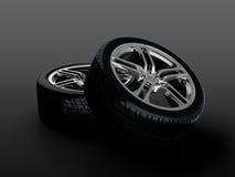 bilhjul Royaltyfri Fotografi