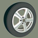 Bilhjul. Royaltyfri Fotografi
