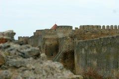 Bilhorod-Dnistrovskyifestung ist ein historisches und Architekturmonument von XIV Jahrhunderten Land Ukraine Stockfotografie