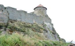 Bilhorod-Dnistrovskyifestung ist ein historisches und Architekturmonument von XIV Jahrhunderten Land Ukraine Stockbilder