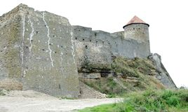 Bilhorod-Dnistrovskyifestung ist ein historisches und Architekturmonument von XIV Jahrhunderten Land Ukraine Lizenzfreie Stockfotografie