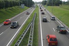 bilhuvudväg Fotografering för Bildbyråer