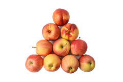 Biliardo di Apple Fotografie Stock