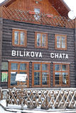 Bilikova chata - cottage at High Tatras, Slovakia Stock Photography