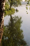 Bilimbayevsky池塘早晨 图库摄影