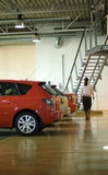 bilinteriorförsäljningar royaltyfri bild