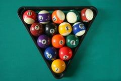 Biljart balls5 royalty-vrije stock foto
