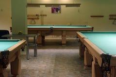 Biljart en pool Royalty-vrije Stock Foto's