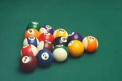 Biljartballen Royalty-vrije Stock Afbeelding