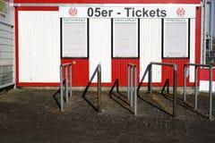 Biljettförsäljningsstadion Royaltyfri Fotografi