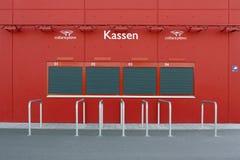 Biljettförsäljningsstadion Royaltyfri Bild