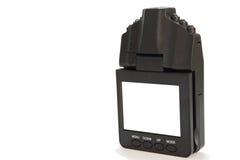 Bilkameradvr för att anteckna trafik arkivbilder
