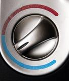 bilkontrolltemperatur Royaltyfri Foto
