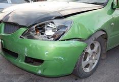 Bilkrasch, försäkring Arkivfoton