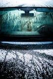 Bilkropp som täckas av vatten royaltyfri fotografi