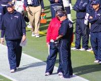 Bill Belichick New England Patriots Head Coach Stock Image