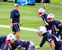 Bill Belichick New England Patriots Head Coach Royalty Free Stock Photos