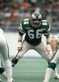 Bill Bergey. Philadelphia Eagles LB, Bill Bergey, #66. (Image taken from color slide royalty free stock images