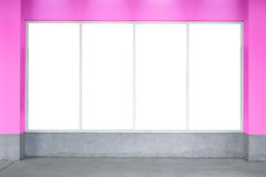 Bill board pink valentine's texture wall, white board, room, tex Stock Image