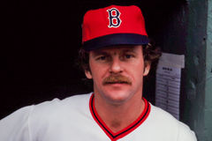 Bill Campbell Boston Red Sox Stock Photography