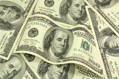 Bill cem dólares Fotos de Stock Royalty Free
