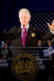 Bill Clinton давая речь Стоковые Фотографии RF