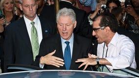 Bill Clinton Arkivbilder