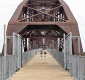 Bill Clinton Bridge. Royalty Free Stock Image
