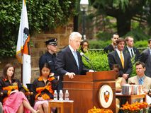 Bill Clinton ha assistito alla graduazione del Princeton Immagine Stock Libera da Diritti