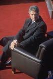 Bill Clinton, 42nd президент, на дне вступления президента в должность 1993, Вашингтон, DC Стоковые Фото