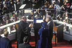 Bill Clinton's Inauguration Day Stock Photography