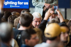 Bill Clinton Stumps for Hillary in Bend, Oregon Royalty Free Stock Photos