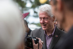 Bill Clinton Stumps for Hillary in Bend, Oregon Royalty Free Stock Photo